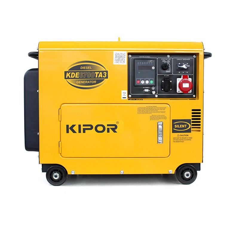 kipor kde6700ta3 diesel generator 5 5 kva kipor power products. Black Bedroom Furniture Sets. Home Design Ideas
